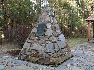 John Marshall - John Marshall's Birthplace Monument in Germantown, Virginia