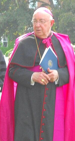 Joseph John Gerry - Image: Bishop Joseph Gerry Saint Anselm College Commencement