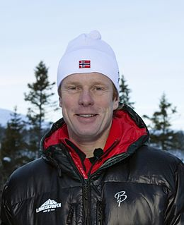 Bjørn Dæhlie Norwegian cross-country skier and businessman