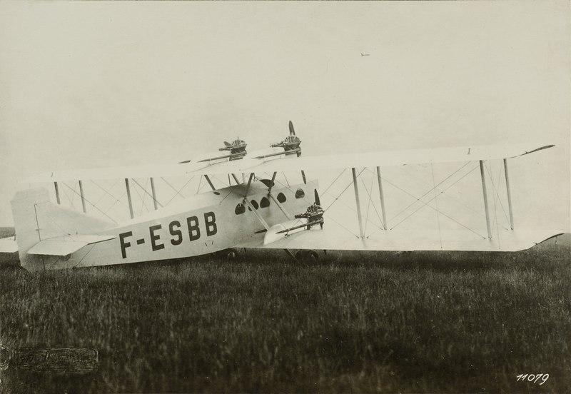Blériot Bl-115 prototype F-ESBB right rear - Ans 05338-02-095-AL-FL