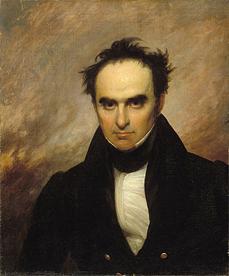 Daniel Webster - 1834 portrait by Francis Alexander
