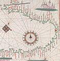 Black Sea and eastern Mediterranean. HM 33. Joan Martines, Portolan Atlas (Italy, ca. 1578).C.jpg