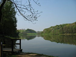 Lake Blaguš in the Municipality of Sveti Jurij ob Ščavnici
