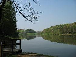 Lago Blaguš en la Municipality of Sveti Jurij-obščavnici