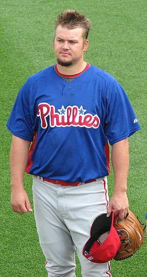Joe Blanton - Blanton with the Philadelphia Phillies