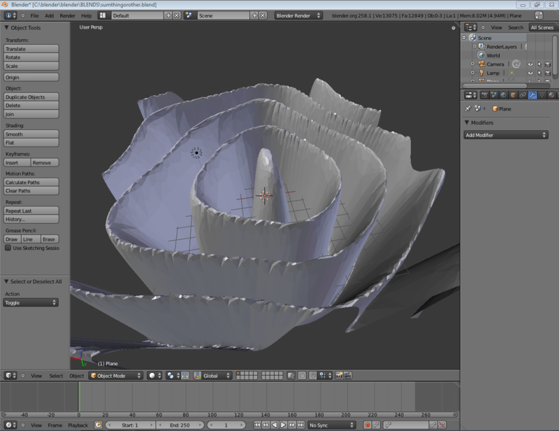 Blender-2.5 flying through canyon finished model.png
