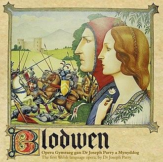 Blodwen - Album cover (1978)