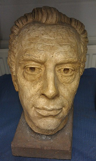 Royal Birmingham Society of Artists - Head of Man, by RBSA president William Bloye, part of the gallery's permanent collection