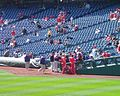 Blue Jays signing autographs at Citizens Bank Park (2371207121).jpg