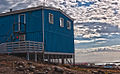Blue Nunavut house on stilts -a.jpg