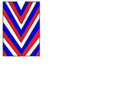 Blue red white diagonal stripes..png