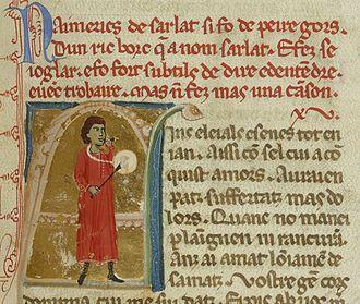 Aimeric de Sarlat - Image: Bn F ms. 854 fol. 123 Aimeric de Sarlat (1)