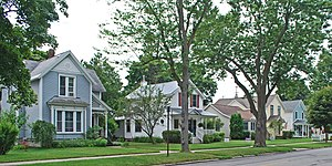 National Register of Historic Places listings in Grand Traverse County, Michigan - Image: Boardman Neighborhood Historic District B Traverse City MI
