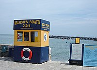 Boat hire kiosk - geograph.org.uk - 865266.jpg