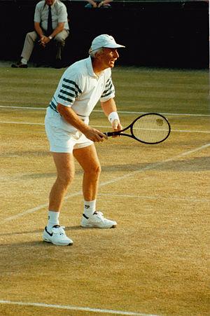 Bob Carmichael - Carmichael Wimbledon Over 35's Doubles 1985