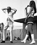 Bob Hope Show - Hope and Raquel Welsh on Stage Dec 67.jpg