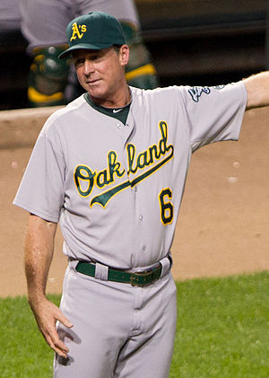 Bob Melvin - Melvin with the Oakland Athletics