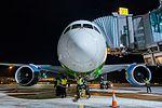 Boeing 787 Dreamliner at Riga Airport (32119235680).jpg
