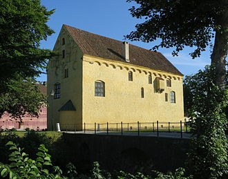Bollerup - View from across the moat