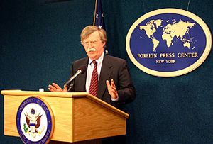 "John R. Bolton - Ambassador Bolton briefing on ""The Human Rights Commission and UN Management Reform"" at the New York Foreign Press Center"