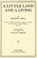 Bolton Hall Book Cover Little Land.png