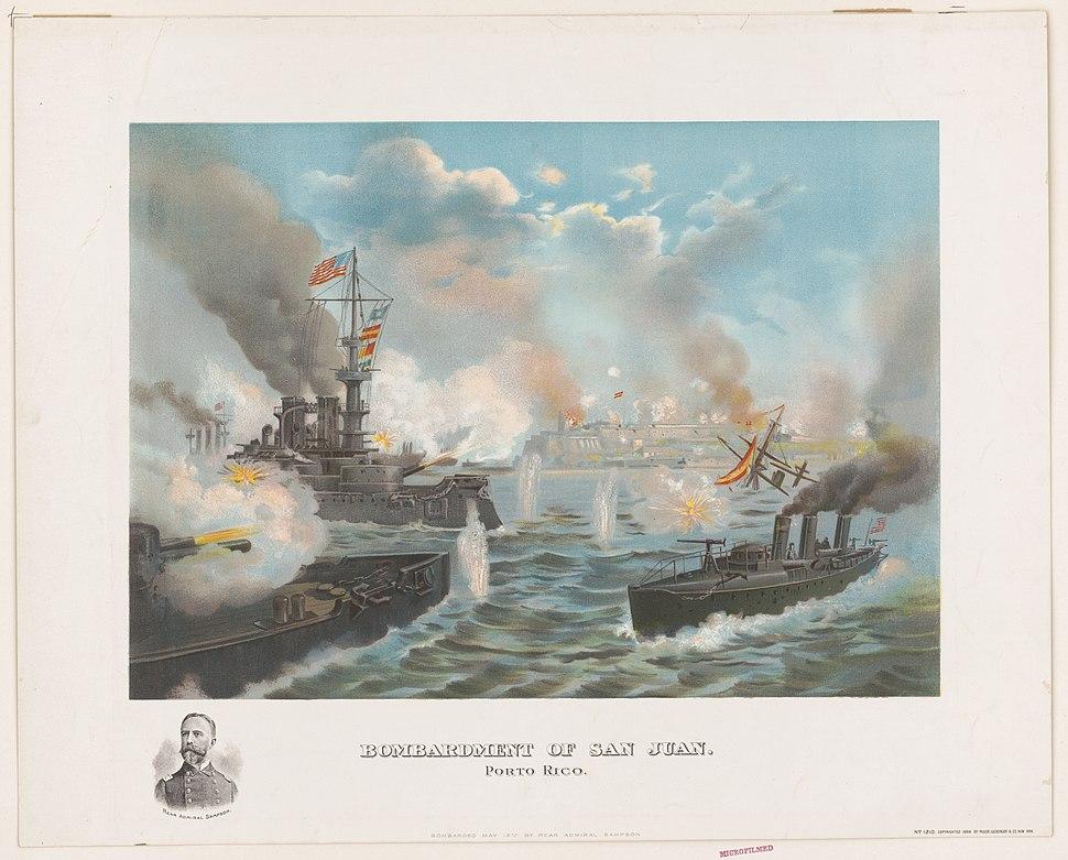 Bombardment of San Juan, Porto (sic) Rico LCCN2001695573