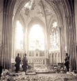 Bombed Out Church in Carpiquet, near Caen, July 12, 1944..png