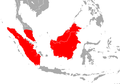 Borneo Roundleaf Bat area.png