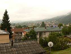 Panoramic view of Bosilegrad