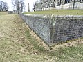 Boundary wall of St Mary's Church, Studley Royal.jpg
