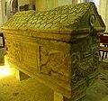 Bourg St Andéol, ardèche, France. Eglise St Andéol + orgues + sarcophage 03.jpg