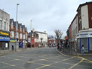Bournbrook Human settlement in England