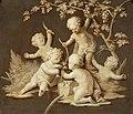 Bovendeurstuk in vergulde lijst wijnoogst Centraal Museum 2519.jpg