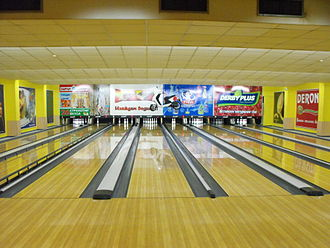 Bowling alley - A bowling alley in Sofia, Bulgaria