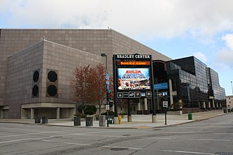 Bradley Center - Image: Bradley Center SE Entrance