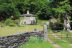 Joseph Bromfield - Brannas Lodge, Llandrillo.  Joseph Bromfield's House near Cowen