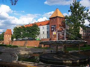 Braniewo - Collegium Hosianum - defensive walls