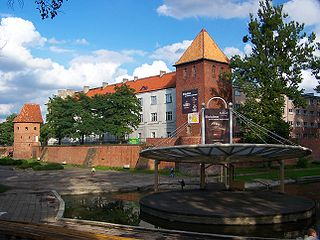 Braniewo Place in Warmian-Masurian, Poland