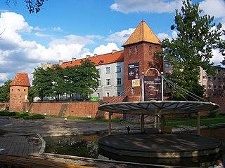 Braniewo Place in Warmian-Masurian, Poland