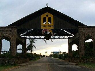 Triunfo, Pernambuco - Triunfo city Entrance