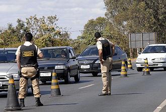 Law enforcement in Brazil - Federal Highway Police (Polícia Rodoviária Federal)