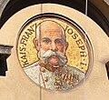 Bregenz Neues Rathaus Mosaik Franz Joseph.jpg