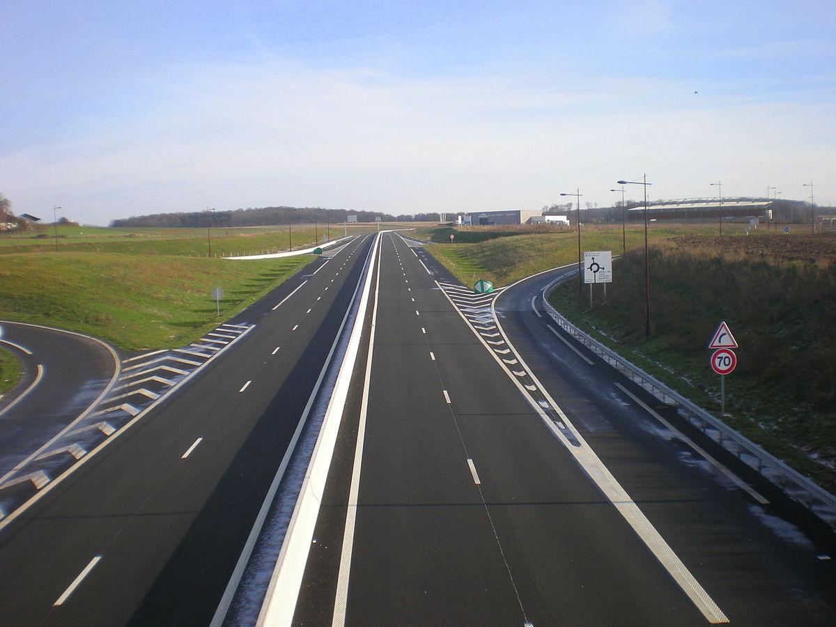 Route nationale 31 france wikip dia - Comment attenuer le bruit d une route ...