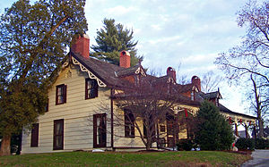 Wappingers Falls Historic District - The Mesier-Brewer House