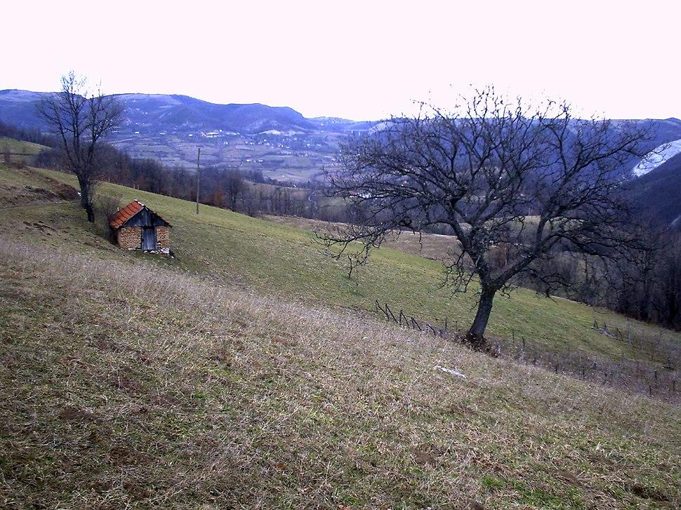 Brezovice - opština Valjevo - zapadna Srbija - panorama 10