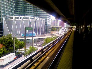 English: Brickell Station Category:Miami Metro...