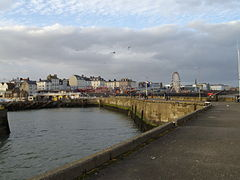 Una vista de Bridlington