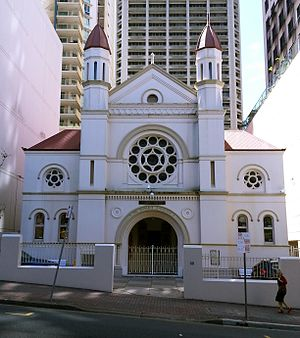 History of the Jews in Australia - Brisbane Synagogue, 2012