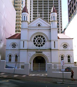 History of the Jews in Australia - Brisbane Synagogue, 2012