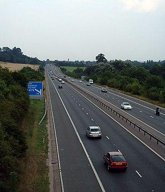 M32 motorway - Image: Bristol M32 Motorway 01